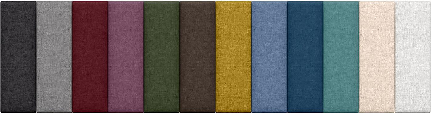 Wall Panel Configurable Headboard |Panelist by Jaxx | Upholstered Microvelvet Fabric