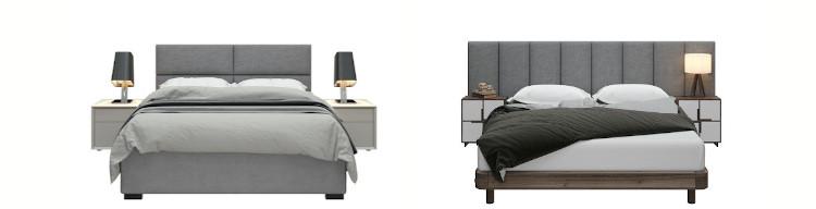 Jaxx Panelist Configurable Headboard Panels in Queen and Full Sizes