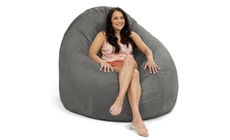 Ja Co 6 Giant Bean Bag Chair, Bean Bags Chair