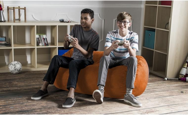 Jaxx® 4' - Kids Bean Bag Couch