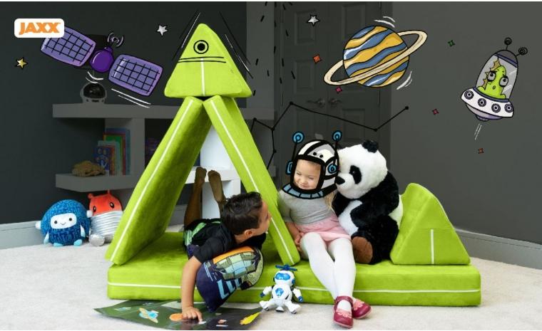Jaxx® Zipline Playscape - Kids Play Couch