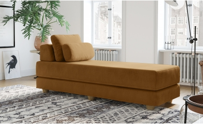 Balshan Daybed in Sunroom in Butternut color