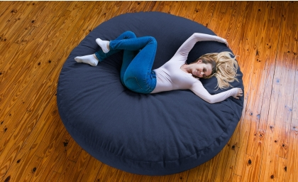 Cocoon 6' Bean Bag - Chenille