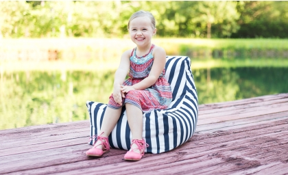 Juniper Kids Outdoor Bean Bag Chair