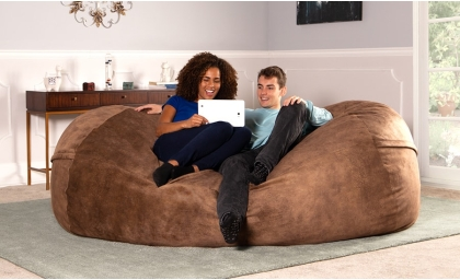 Premium Chenille Sofa Saxx 7'
