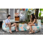 Jaxx Outdoor Collection in Tahiti Turquoise color