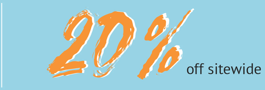 20% off Back 2 School Sale