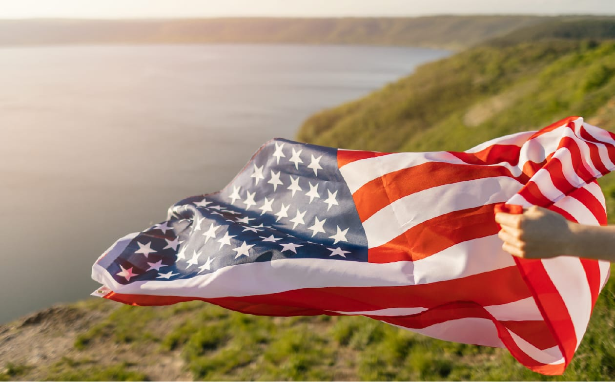 Our products are proudly made in America
